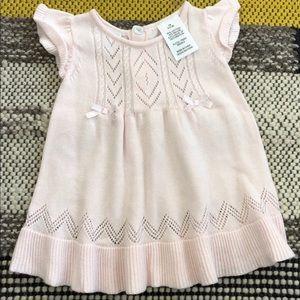 Other - Crochet pink dress